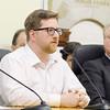 School Committee Candidate Zachary Bos. SENTINEL & ENTERPRISE/JOHN LOVE