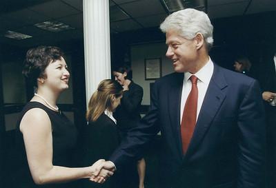 Lura & the Clinton White House - 1996 - 2000