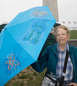 Jane S. Richardson, March for Science in DC