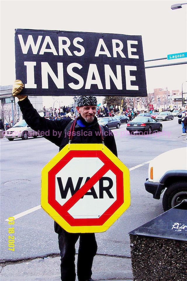 Wars are insane