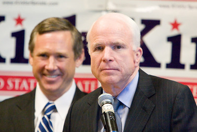 Mark Kirk with John McCain 8/30/09