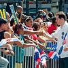 Mark Levine at the Dominican Day Parade :