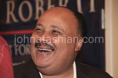 Martin Luther King III & Dan Roberti - August 3, 2012