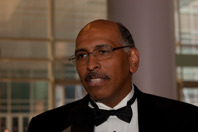 Michael Steele  is the chairman of the Republican National Committee (2009 RTCA Dinner)
