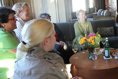 Clockwise from upper left: Lisa Peters , Helynna Brooke, Marilyn Fowler, Sarah Geller.