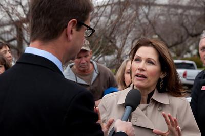Michele Bachmann, Griff Jenkins (Fox)