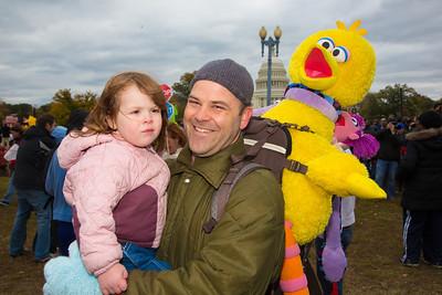 Andy Quathamer and Anya (age 2) of Washington DC