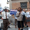 MoveOn.org Fight Corruption Rally - Flatbush Avenue, Aug 10 2010<br /> ====<br /> Letitia James, City Council Member, gave an impassioned speech which recalled the sacrifices of the civil rights movement and urged people to fight this new battle to reclaim our democracy with the same dedication.