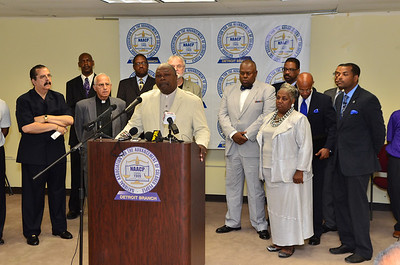 NAACP Press Conference on Emergency Manager Law
