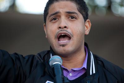 Student activist William Kellibrew