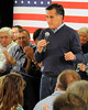 2012 Republican Presidential candidate, Mitt Romney, made a campaign appearance at the Kennett Middle School, in Conway, NH, for a town hall style meeting, on December 22nd, 2011.