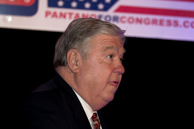 Republican Governors Association Chairman Haley Barbour (R-Miss) speaks during RNC Election Night Results Watch event in Washington, DC, on November 2, 2010. (Photo by Jeff Malet)