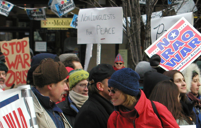 Peace March, 021503