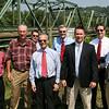 Nicely visits bristol bridge with Kent Williams