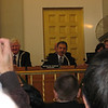 Nick's swearing in ceremony for Bloomfield Town Council -- January 1, 2009.