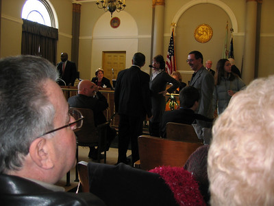 Nick's Ceremony for Bloomfield Town Council