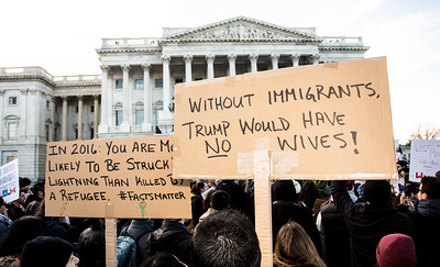 Donald Trump Immigration Policy Protest