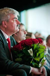 Håkan Juholt - nyvald på extrakongressen
