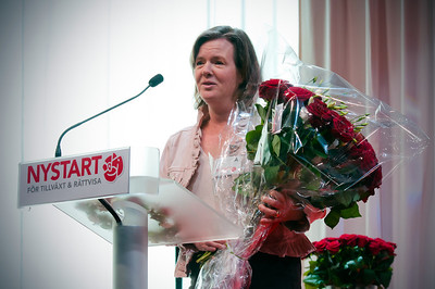 Karin Jämtin talar