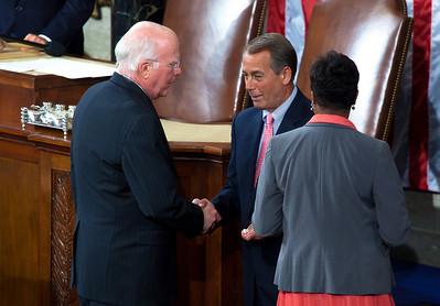 Sen. Patrick Leahy (D-VT) Speaker John Boehner (R-OH)