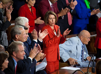 House Minority Leader Nancy Pelosi (D-CA) Rep. John Dingell (D-MI)