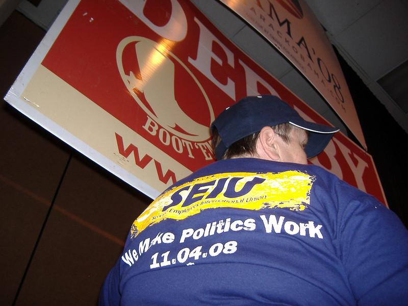 Marvel, Chief Nursing Steward for SEIU at Renown.  SEIU sponsored Derby also.