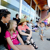 "Kerry Lewis, left, with her daughter Tegan Walker, 12, watch Xavi Rivera, 11-months. People waited about 3 hours to get tickets to see President Obama.<br /> Hundreds of people waited in line outside the Obama Organizing for America Office on Pearl Street to get tickets to  President Obama's speaking engagement at CU on Sunday.<br /> For a video and more photos, go to  <a href=""http://www.dailycamera.com"">http://www.dailycamera.com</a>.<br /> Cliff Grassmick  / August 30, 2012"