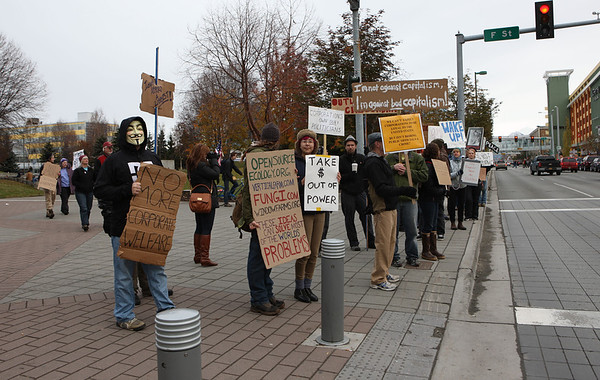 Occupy Anchorage 10-22-11