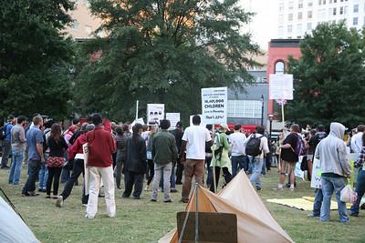Occupy Atlanta - October 14, 2011