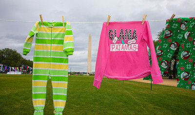 Where are the Children, Pajama Clothesline Project