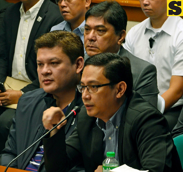 Paolo Duterte and Manases Carpio