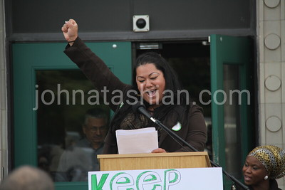 """""""Parents For Progress"""" Rally at the Bridgeport City Hall - October 8, 2012"""