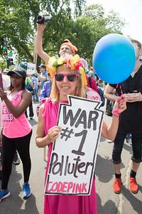 People's Climate March, Medea Benjamin