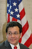 US Attorney General Alberto Gonzales on a visit to Rio de Janeiro in Feb. 2007.(AustralFoto/Douglas Engle)