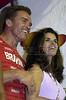 Arnold Schwarzenegger and wife Maria Shriver enjoy  carnival in Rio de Janeiro. (Australfoto/Douglas Engle)