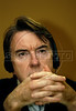 Peter Mandelson, EU Trade commissionner, speaks to journalists during a press conference in Rio de Janeiro, Brazil, April 1, 2006. ((Austral Foto/Renzo Gostoli))