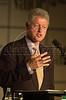Former US President Bill Clinton speaks in Sao Paulo, Brazil.(Douglas Engle/Australfoto)