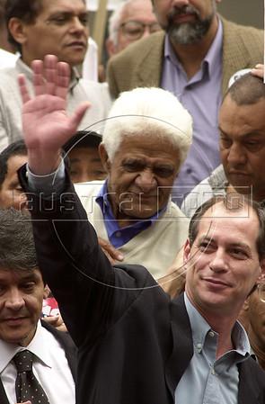 Brazilian Presidential candidate Ciro Gomes.<br /> (Australfoto/Douglas Engle)