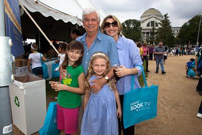 Former Senator Chris Dodd and family