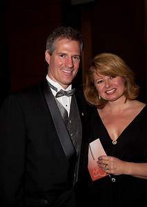 Sen. Scott Brown with wife Gail Huff