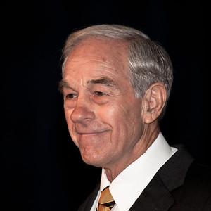 Representative Ron Paul (R-Texas)