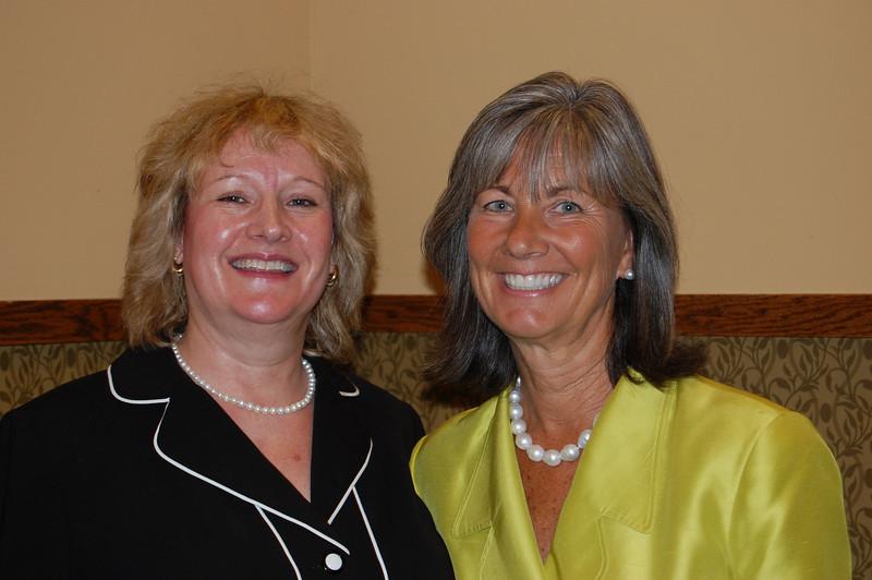 CCCTU VP Jillian Varstrate and Senator Susan Garrett.
