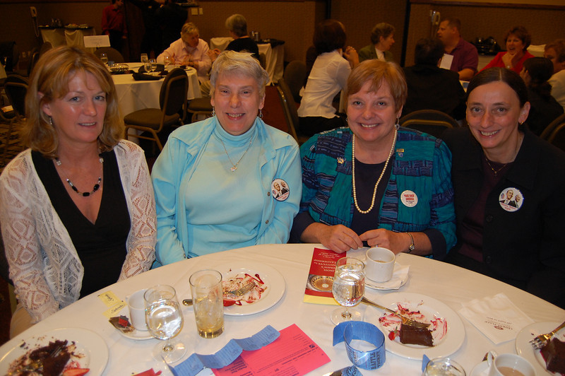 Harper College was well represented with ProTech Chair Margie Sedano, Sharon Martin, Pat Wenthold and Marie Eibl.