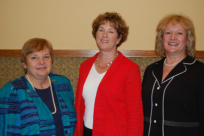 Pat Wenthold, District 59 Dtate Representative Kathy Ryg and Jillian Verstrate.