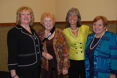 CCCTU Jillian Verstrate, Keynote Speaker Margaret Blackshere, Senator Susan Garrett and CCCTU Pat Wenthold.