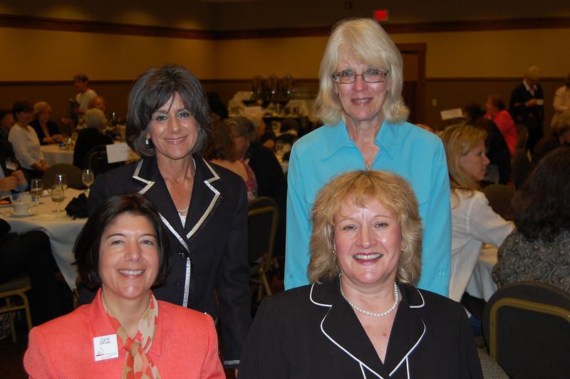 Representing Oakton College were Carol DiCola, Valerie Green, Barb Reineking and Jillian Verstrate.