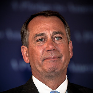 House Republican Leader John Boehner broke into tears as he delivered his victory speech following major Republican gains in Congressional Elections in Washington DC on Tuesday, November 2, 2010.