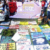 Anti-pork barrel placards were displayed at Gaston Park in Cagayan de Oro City during the 'Million People March' that was attended by various sectors on Monday. (Joey P. Nacalaban photo/Sun.Star Cagayan de Oro)