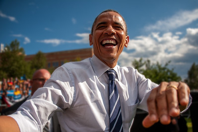 President Barack Obama at CSU Fort Collins 8.28.12