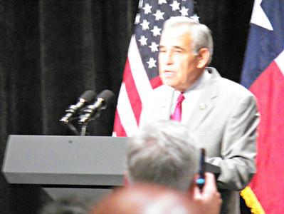 Congressman Charlie Gonzalez, Texas Democrat